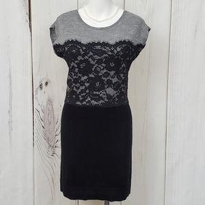 Ann Taylor LOFT dress SP Small Petite Back Lace
